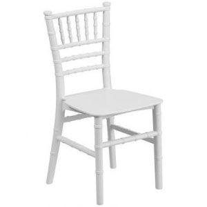 White Kids Tiffany Chair