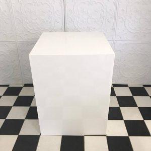 Square White Plinths 55x80cm