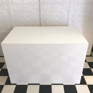 White Rectangle Table 1.2m