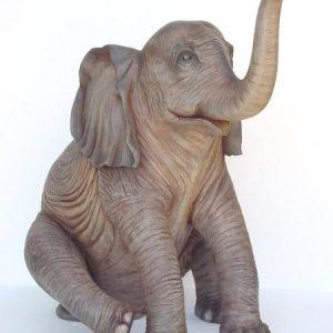 Rocco Sitting Elephant