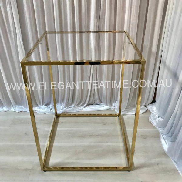 Como Gloss Gold Cake Table