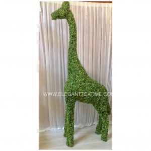 Tall Green Giraffe 2.3m