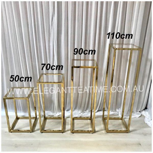 Como Gloss Gold Plinth 110cm