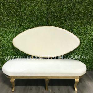 Dontella Gold & White Lounge