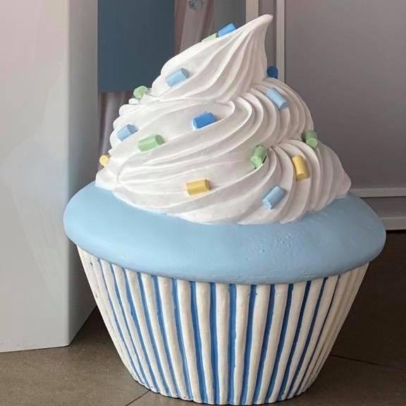 Blue Cupcake Prop