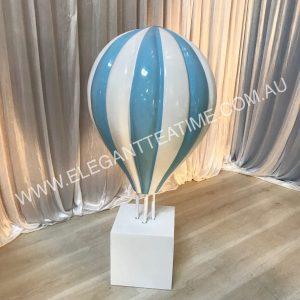Blue Hot Air Balloon 1m