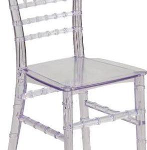 Clear Kids Tiffany Chair