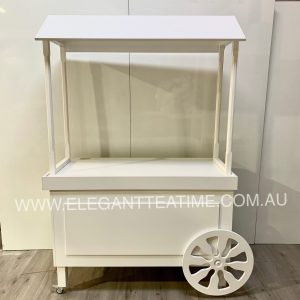 White Canopy Candy Cart